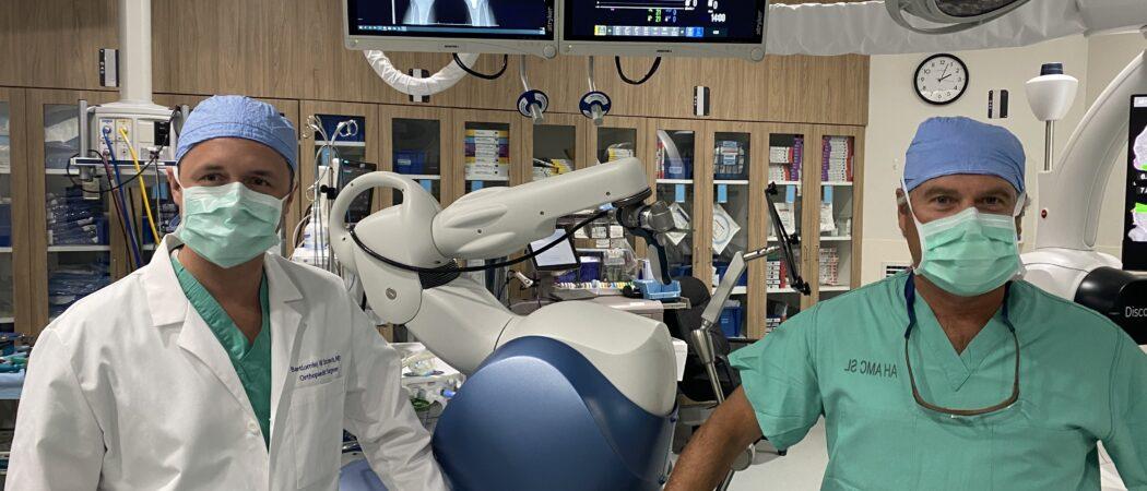 LPSM Introduces MAKO Robotic Surgery